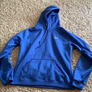 Blue Under Armour hoodie